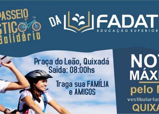 1º Passeio Ciclístico Solidário da FADAT