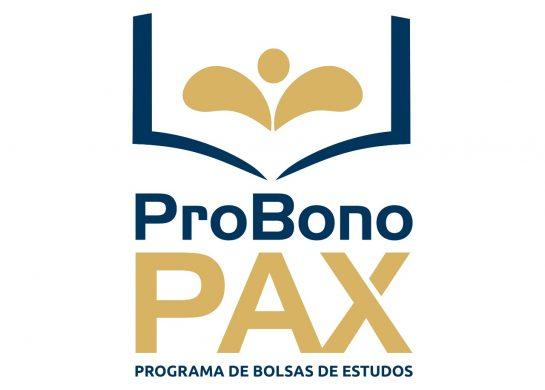 Inscrições abertas – ProBono Pax